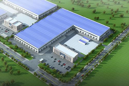 新工厂鸟瞰图